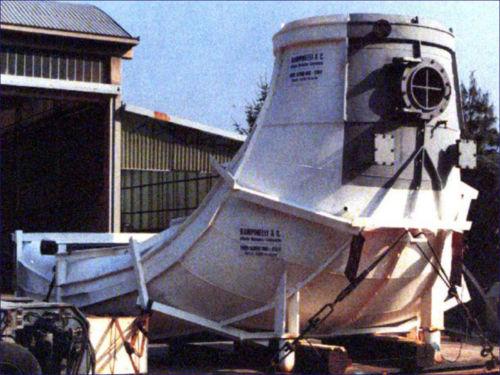 Assuan Dam Discharge Connector