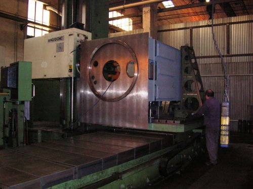 Industrial Centrifuge Shell - Mechanical Machining
