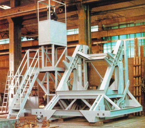 Oleodynamic Tipper for Ladles