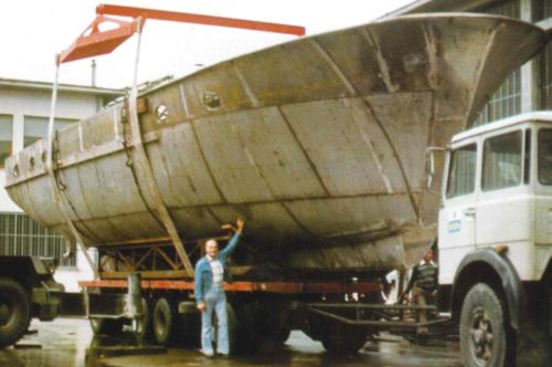 Stainless Steel 16 m Hull